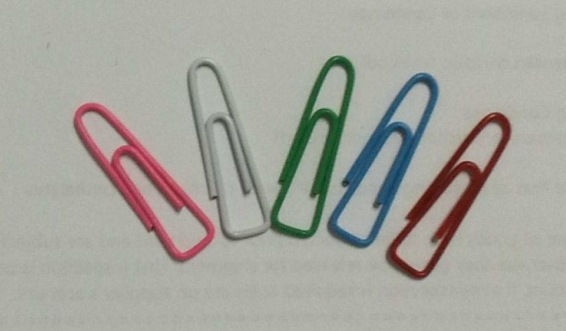 25mm heat tranfer printing binder clips  for office