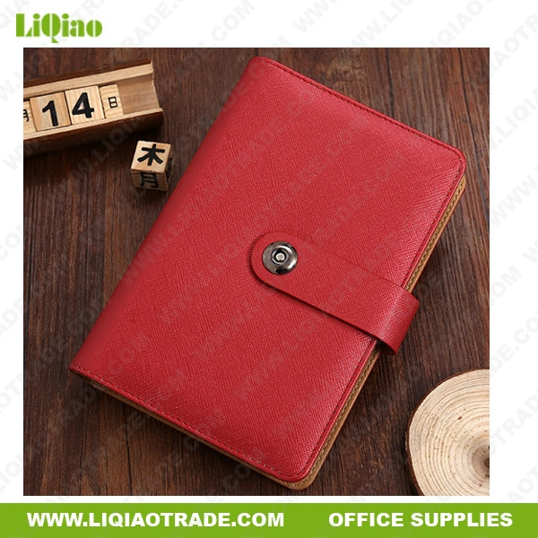 Loose-leaf business notebook with customized LOGO