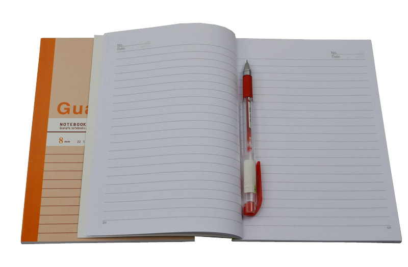 A5 80sheets soft cover notebook for office
